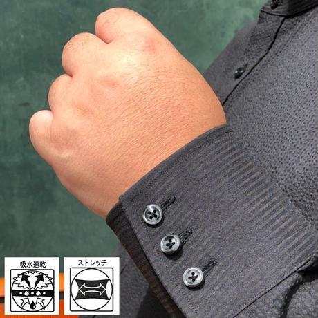 たろlong shirt(タロ ロング シャツ)ブラック  TLS-002