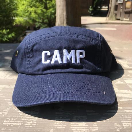 """""""CAMP"""" 刺繍ミリタリーキャップ"""