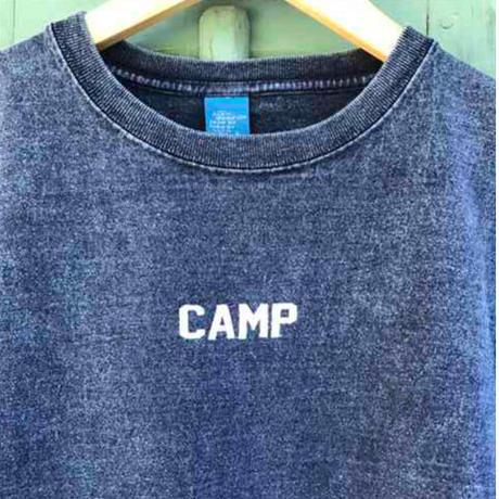 CAMP INDIGO HEAVY CREW  T