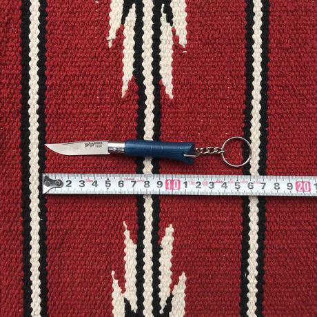 【訳あり】OPINELオピネル ステンレススチールカラーナイフ#4キーリング付き