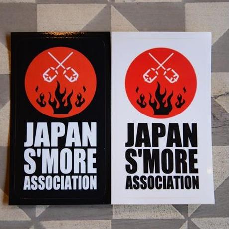 """""""JAPAN S'MORE ASSOCIATION""""ステッカー"""