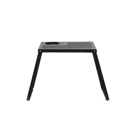 auvil black mini one burner long table