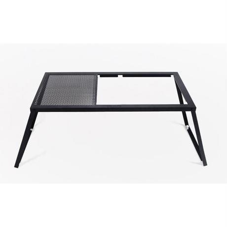 オーヴィル(auvil) ブラックガーデンツインテーブル