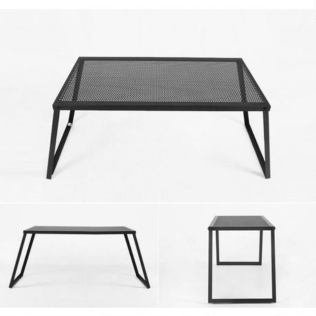 auvil black garden wide table