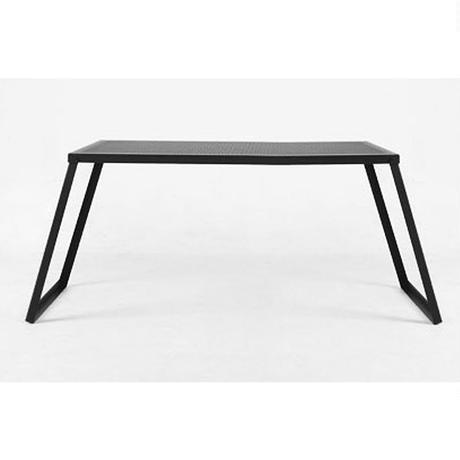 オーヴィル(auvil) ブラックガーデンワイドテーブル