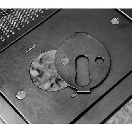 auvil Black One Burner Plate Kit