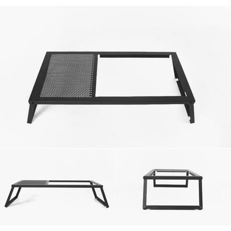 auvil black lounge twin table
