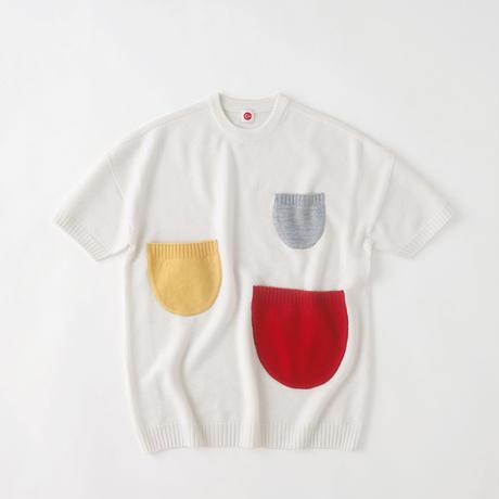 C021900 / nest sweater / white