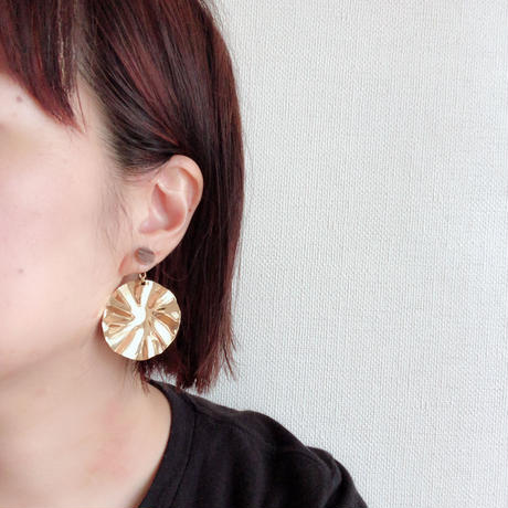 disk wave gold pierce