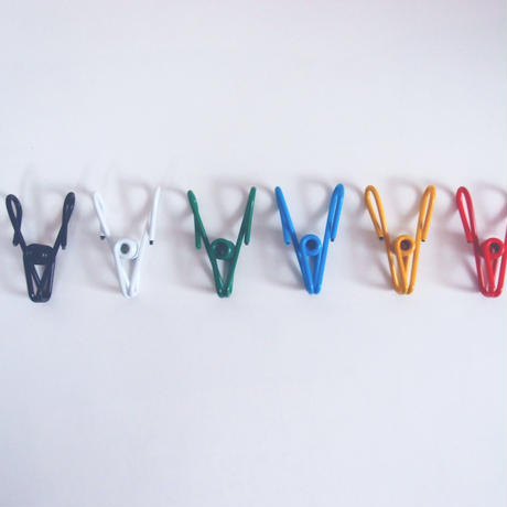 COLORED SPRING CLIPS