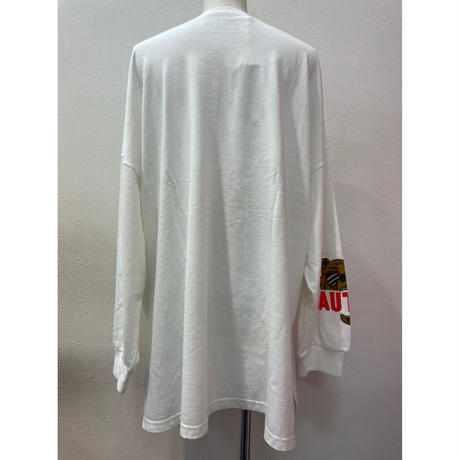 LIME.ベアーロングTシャツ(アイボリー).P1007
