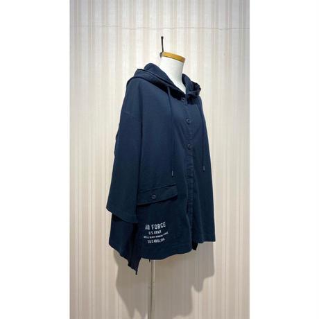 LIME.サーマルパーカージャケット(ネイビー).O0690