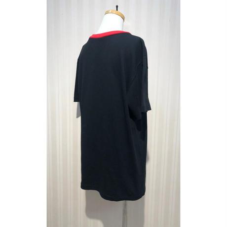 MORIyumi.リメイクパッチTシャツ(カラフル波).O0612