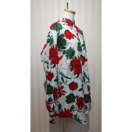 MORIyumi.ワイドチュニックシャツ(総花柄).O0680