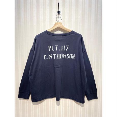 LIME.USAプリントロングTシャツ(ブラック).O0691