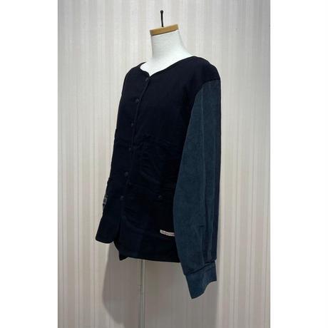 LIME.ノーカラージャケット(黒).O0682