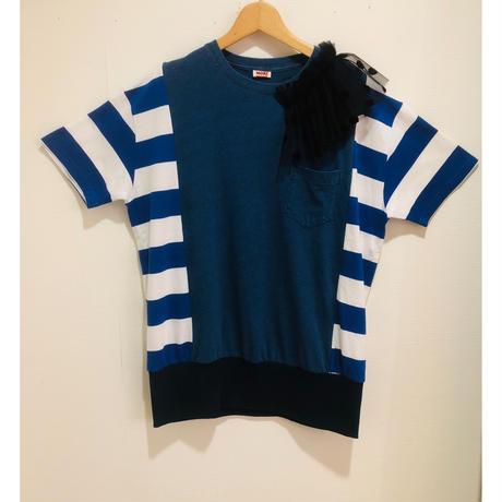 MORI yumi肩フリルTシャツ.P102