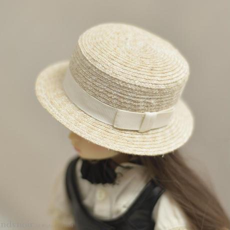 カンカン帽 (ナチュラル)