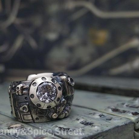 Some parts of Mecha Earcuffs. Silverjewelry RhEC-1