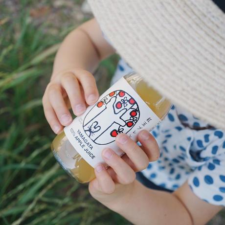 リンゴリらっぱ 100%自家農園産リンゴジュース