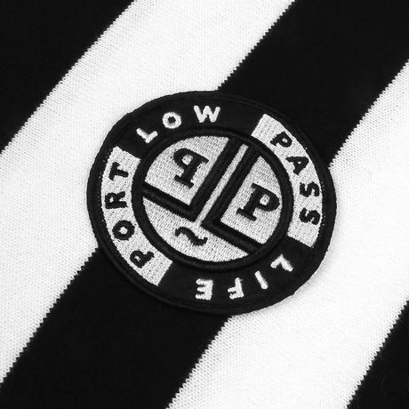 "PASS~PORT LOW LIFE ""L.L.F.C"" JERSEY BLACK/WHITE"