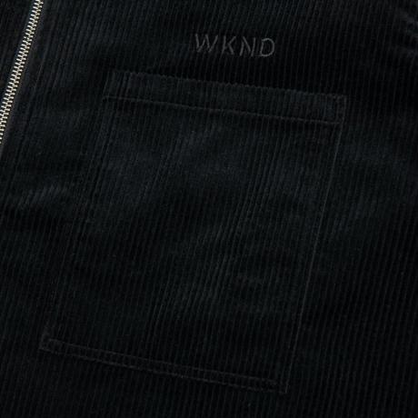 WKND MAJOR ZIP SHIRT BLACK