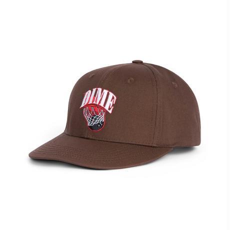 DIME BASKETBOWL CAP BROWN