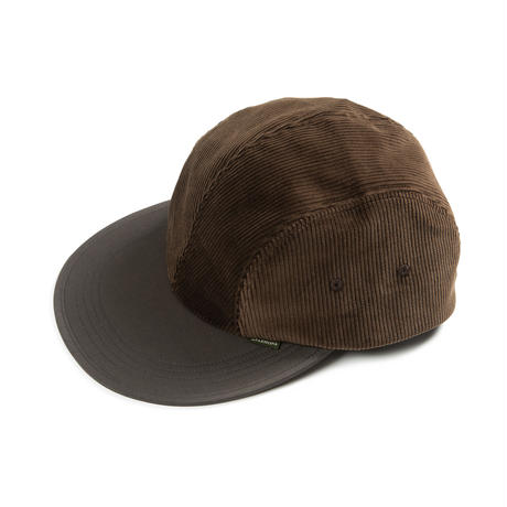 DIASPORA SKATEBOARDS BITTER CORDS SOFT VISOR CAP BROWN/DARK OLIVE