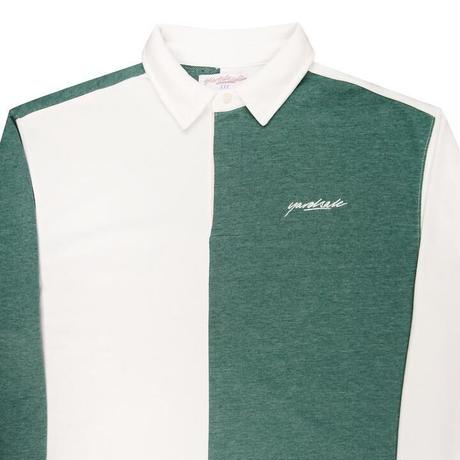 YARDSALE TONIC LONGSLEEVE POLO FOREST