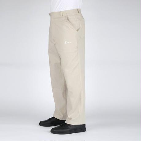 DIME CLASSIC CHINO PANTS DARK TAN