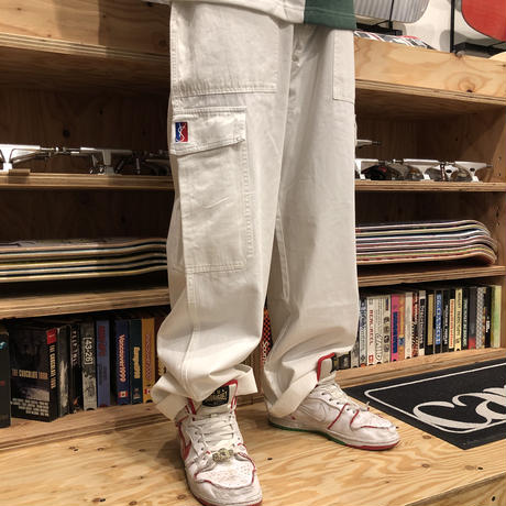 YARDSALE  CARGO PANTS CREAM
