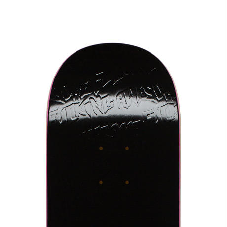 FUCKING AWESOME STAMP EMBOSSED DECK BLACK