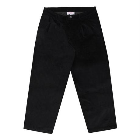 YARDSALE TWILL SLACKS  BLACK