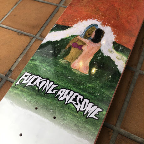 FUCKING AWESOME WAVE PAINTING DECK 8.25
