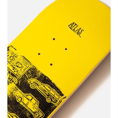 ATLAS SKATESHOP ROAD RUNNER ATL DECK 8.25