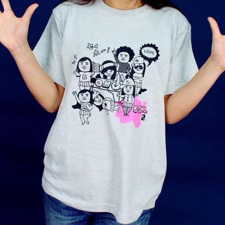ブスのオールドスクールTシャツ