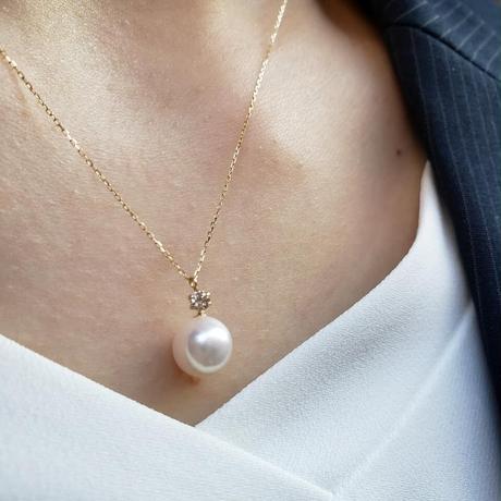 K18 あこや本真珠ネックレス