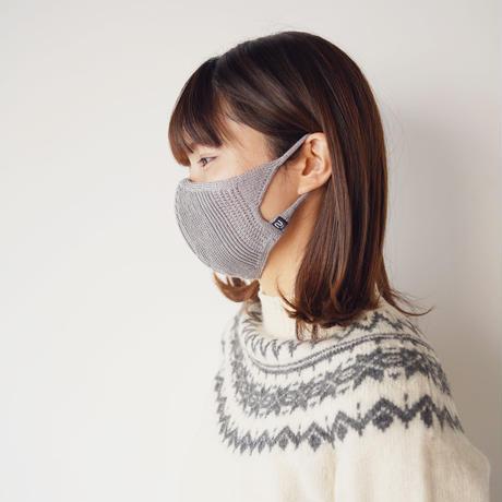 【単品】新色2カラー!シルクの立体フィット&形状記憶ニットマスク