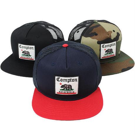 7UNION セブンユニオン クシャフォルニア メッシュ スナップバックキャップ ブラック、カモ、ネイビー 7UB-731 KUSAFORNIA MESH CAP 7UN447