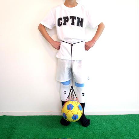 【リフティングがしやすいサッカーソックス】カピタン トリコロールソックス