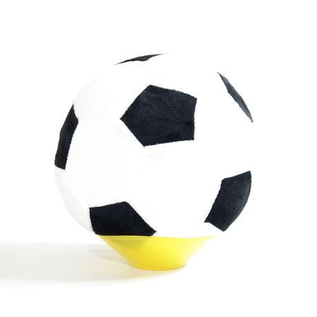【柔らかく騒音が少ない】ふわふわサッカーボールクッション