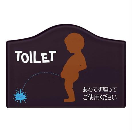 トイレ掃除を楽にするドアプレート