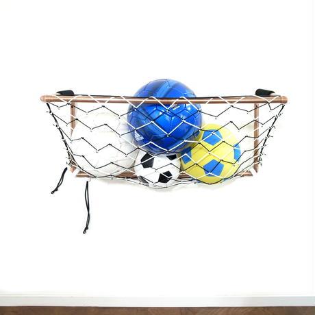 ボール収納ができる折りたたみミニサッカーゴール<ライトモデル>