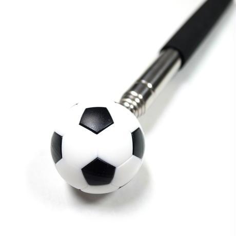【指導者・解説者向け】先端にボールが付いた説明用指示棒  2(サッカーボール)