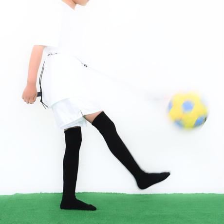 【リフティングが上手くなるボールネット】カピタン パラコード ボールネット コンビ リフレクト<フック付き>(ブラウン×ブラック)