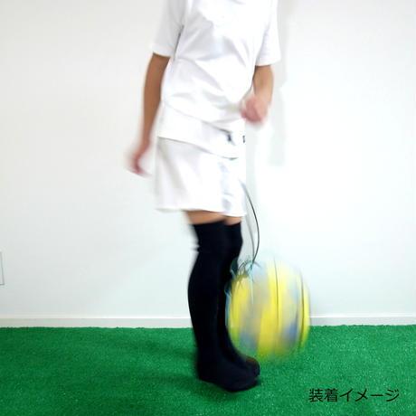 【リフティングが上手くなるボールネット】カピタン  パラコード ボールネット コンビ(ターコイズブルー×オレンジ)