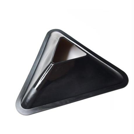サッカー練習用マーカーコーン 三角10枚セット<ホルダー付き>