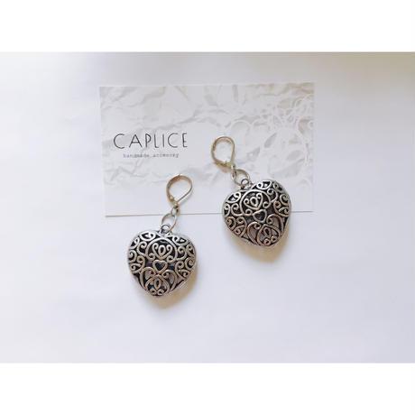 silver heart pierce