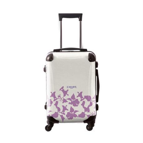 アートスーツケース #CRA01H-006F ベーシック ピポパ(リーフラベンダー)