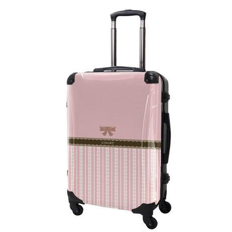 アートスーツケース#CRA03H-008B|プロフィトロール バニラ(桜色)